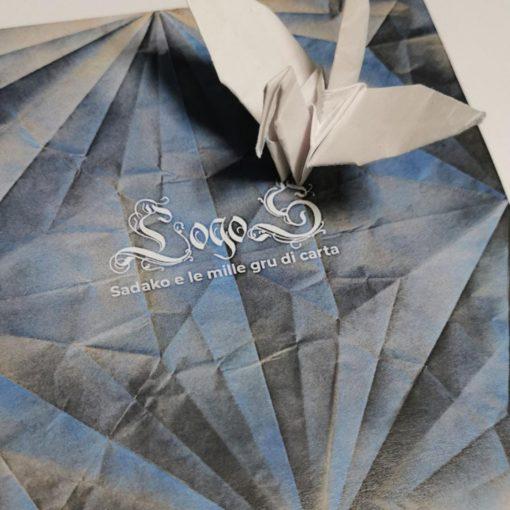 Logos Sadako e le mille gru di carta