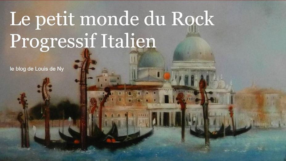 Luis de Ny Le petit monde du Rock Progressif Italien
