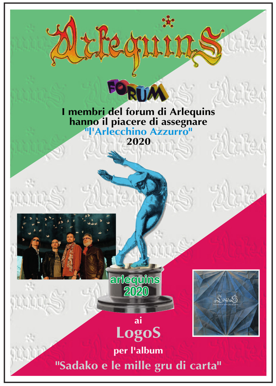 arlecchino azzurro 2020